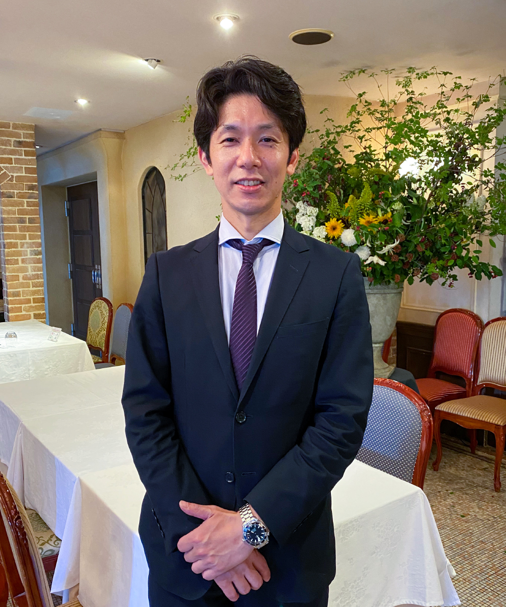 バンケットマネージャー 樋口亮